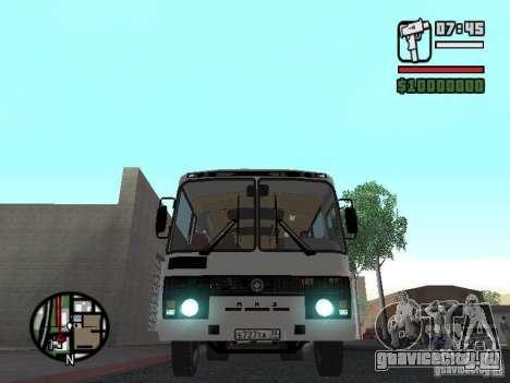 ПАЗ 4234 v1 для GTA San Andreas