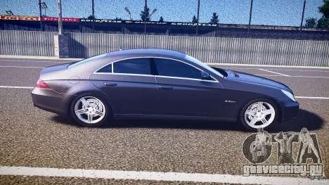 Mercedes-Benz CLS 63 для GTA 4 вид сбоку