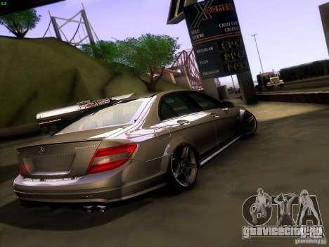 Mercedes-Benz C36 AMG для GTA San Andreas вид сзади слева