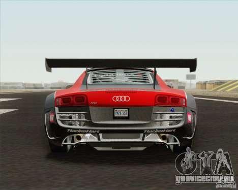 Audi R8 LMS v2.0.1 для GTA San Andreas вид сбоку
