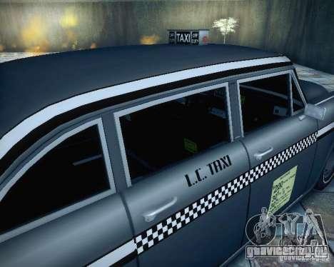 Diablo Cabbie HD для GTA San Andreas вид сзади