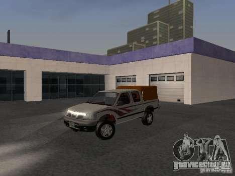 Nissan Pickup для GTA San Andreas вид сзади