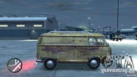 VW Transporter T2 для GTA 4 вид справа