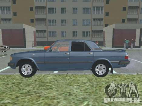 ГАЗ 3110 Волга v1.0 для GTA San Andreas вид слева