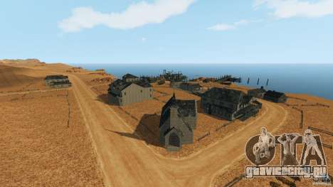 Red Dead Desert 2012 для GTA 4 второй скриншот
