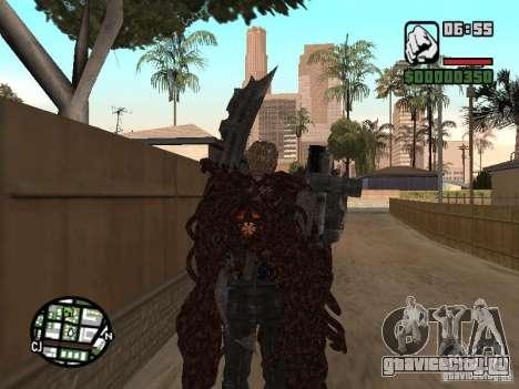 Вескер Уроборос для GTA San Andreas третий скриншот