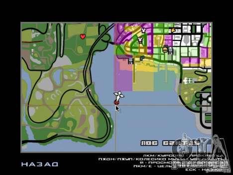 Остров с  особняком для GTA San Andreas девятый скриншот