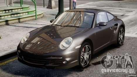 Porsche 911 Turbo для GTA 4 вид слева