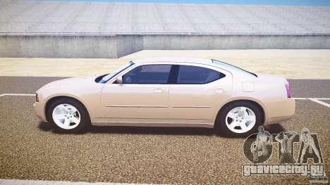 Dodge Charger RT Hemi 2007 Wh 1 для GTA 4 вид слева