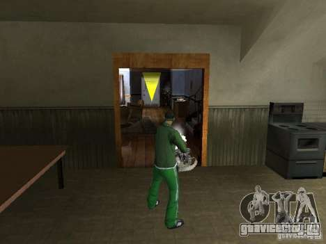 CLEO Оружие для GTA San Andreas пятый скриншот