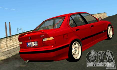 BMW  M3 Е36 для GTA San Andreas вид слева