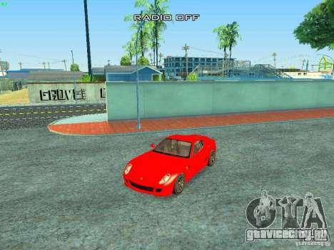 Ferrari 599 GTB для GTA San Andreas салон