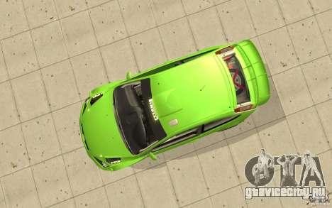 Ford Focus RS WRC 08 для GTA San Andreas вид справа