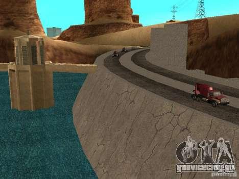Новые текстуры для дамбы для GTA San Andreas третий скриншот