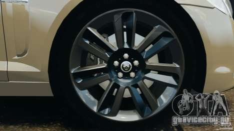 Jaguar XFR 2010 v2.0 для GTA 4