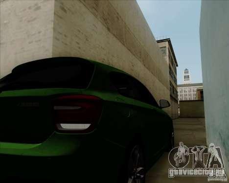 BMW M135i V1.0 2013 для GTA San Andreas вид сбоку
