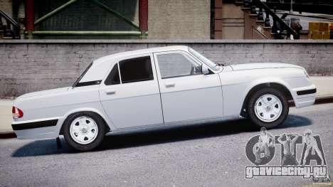 ГАЗ-31105 для GTA 4 вид изнутри