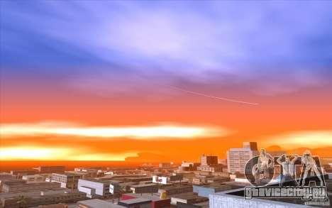 Timecyc Los Angeles для GTA San Andreas шестой скриншот