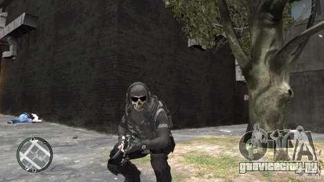 MW2 Ghost Diving Suit для GTA 4 второй скриншот
