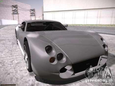 TVR Cerbera Speed 12 для GTA San Andreas вид снизу