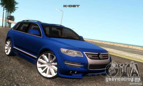 VolksWagen Touareg R50 JE Design Tuning для GTA San Andreas