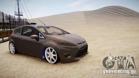 Ford Fiesta 2012 для GTA 4 вид слева