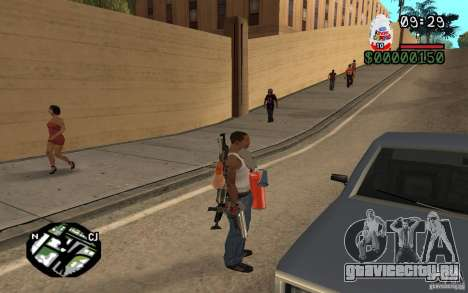 Kinder Surprise для GTA San Andreas третий скриншот