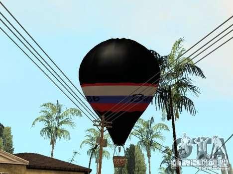 Воздушный шар Витязь для GTA San Andreas вид справа