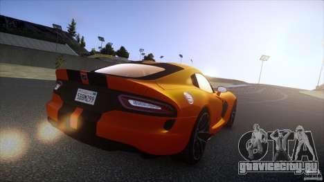 Dodge Viper GTS 2013 v1.0 для GTA 4 вид слева