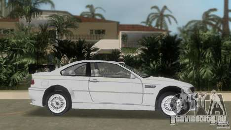 BMW M3 для GTA Vice City вид слева