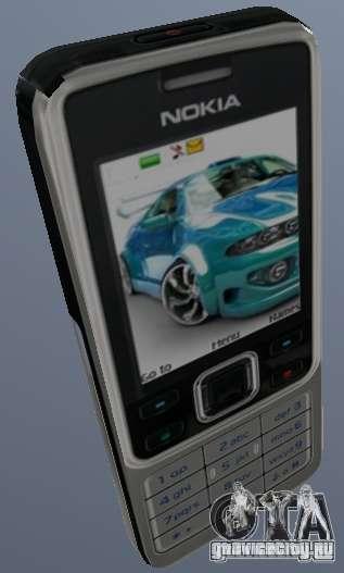 Nokia 6300 Mobile для GTA San Andreas