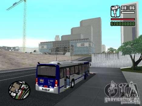 Busscar Urbanuss Ecoss MB 0500U Sambaiba для GTA San Andreas вид справа