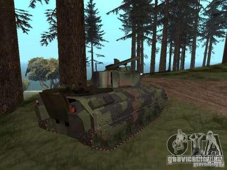 M2A3 Bradley для GTA San Andreas вид слева