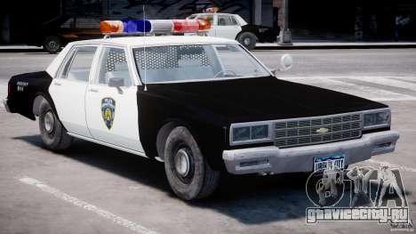 Chevrolet Impala Police 1983 [Final] для GTA 4 вид слева