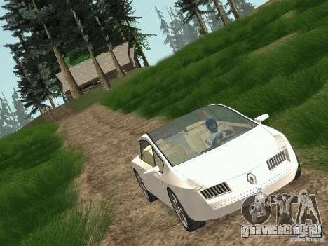 Renault Vel Satis для GTA San Andreas вид сзади слева