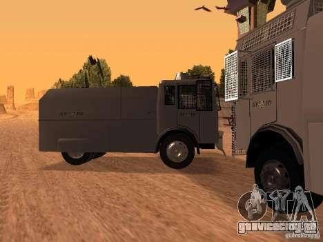 Полицейский водомет Rosenbauer для GTA San Andreas вид слева