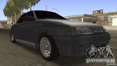 ВАЗ 2110 Dag для GTA San Andreas вид сзади