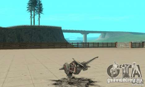 Москит для GTA San Andreas вид сзади слева