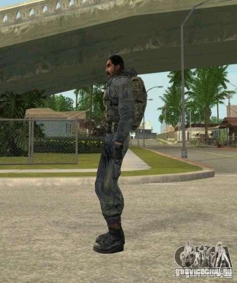 Группировка Наёмники из сталкера для GTA San Andreas шестой скриншот