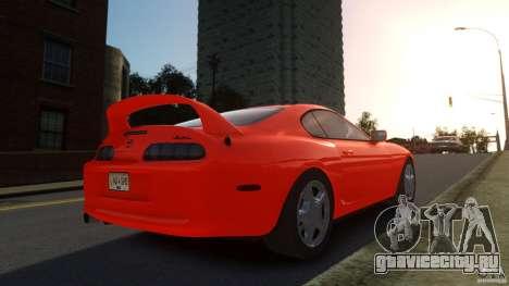 Toyota Supra для GTA 4 вид слева