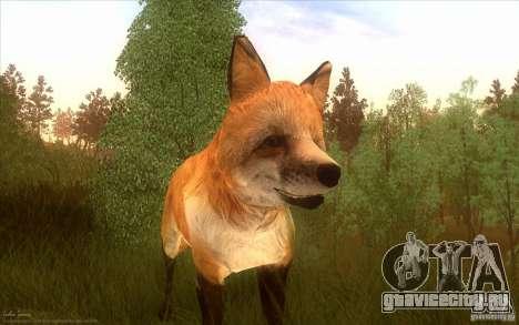 Wild Life Mod 0.1b для GTA San Andreas четвёртый скриншот