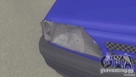Kia Pride 131 SX для GTA San Andreas вид справа