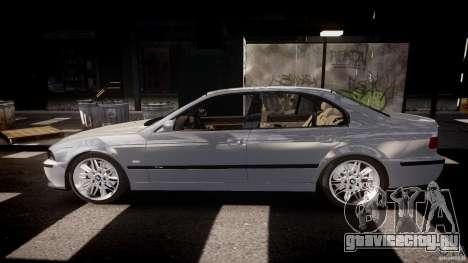 BMW M5 E39 Stock 2003 v3.0 для GTA 4 вид слева