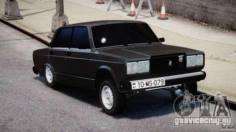 ВАЗ-2107 Avtosh style для GTA 4 вид справа