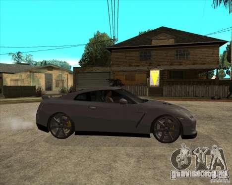 2008 Nissan GTR R35 для GTA San Andreas вид справа