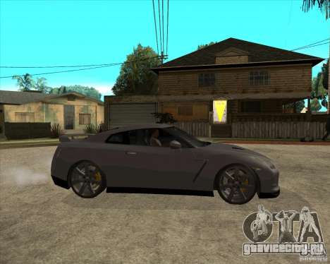 2008 Nissan GTR R35 для GTA San Andreas