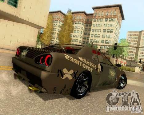 Elegy Drift Korch для GTA San Andreas колёса