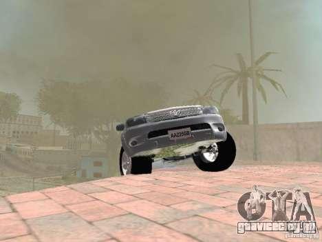 Toyota Hilux для GTA San Andreas вид сбоку