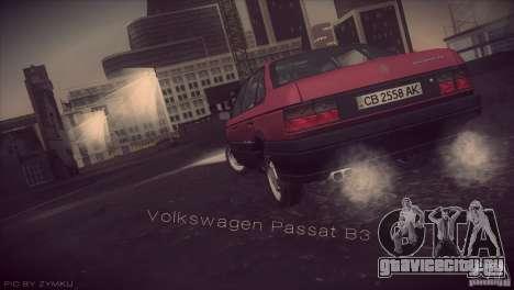 Volkswagen Passat B3 v2 для GTA San Andreas вид слева