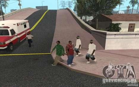 Skins Grove Street для GTA San Andreas пятый скриншот